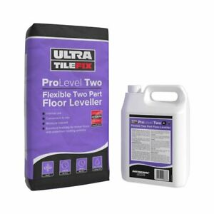 Ultra Tile Fix ProLevel Two Flexible Two Part Self Levelling Compound 48 x 20kg