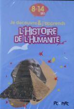 Jeu PC /MAC L'HISTOIRE DE L'HUMANITE,je découvre et j'apprends 8-14 ans Neuf