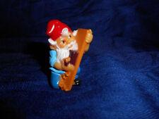 GNOME CARPENTER WOOD PLANE LUMBER Plastic Figurine Kinder Surprise ZWERGE LUTIN