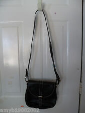 Liz Claiborne Black Shoulder Bag NEW LAST ONE FREE USA SHIPPING