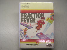 FRACTION FEVER     Cartridge Box and manual  Commodore 64 C64 SX64 C128
