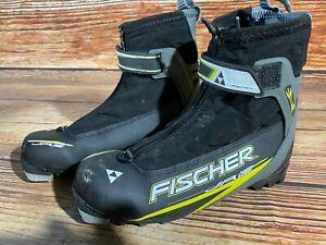 Fischer JR Combi Cross Country Ski Boots Size EU40 NNN binding
