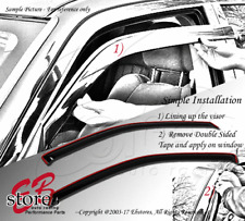 Vent Shade Window Visors Mazda Pickup B2500 B3000 B4000 94-07 08 09 10 Front 2pc