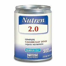 Nestle Nutren 2.0 Vanilla Liquid Nutrition 250 Milliliter