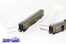 Fleischmann H0 5150 y  5152 Lote de vagones de pasajeros, DB