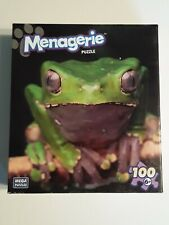 Menagerie 100 pc Puzzle Green Frog Age 6+