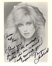 Morgan Fairchild Falcon Crest Paper Dolls Autograph Hand Signed 8x10 Photo
