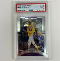 2019 Panini Prizm LeBron James PSA 9 Mint Card 129 LA Lakers 1st Year Champion