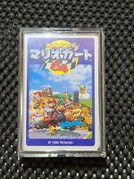 Vintage Nintendo Mario Kart 64 1996 Trump Card Deck Japan Rare Promo Yoshi Peach
