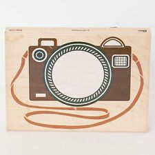 Camera Frame Wood Mounted Rubber Stamp by Posh Impressions 1997  #Z795R