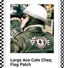 Large Ace Cafe Back Patch, BSA Bikers, Piston Broke, Ton Up Pirate, TT, MCN Ogri