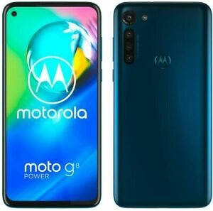 BRAND NEW Motorola Moto G8 Power Lite 64GB 4GB RAM Royal Blue Unlocked Dual SIM