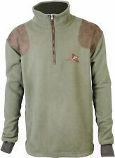 Pheasant Embroidered / Plain Country Fleece Pullover Shooting Hunting Jumper