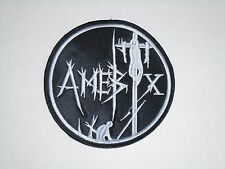 AMEBIX PUNK/CRUST METAL EMBROIDERED PATCH