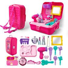 Little Girl Play Makeup Set-Pretend Salon Beauty Dress Up Toy for Toddler Kid UK