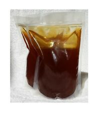 100% RAW PURE NATURAL BUCKWHEAT HONEY 6 pounds stand-up zipbag's