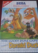 Jeu SEGA Master system - The lucky dime caper starring Donald duck-complet