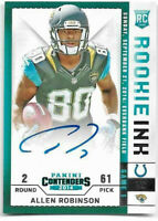 2014 Panini Contenders Football Rookie Ink RC Autograph Auto Allen Robinson Jags