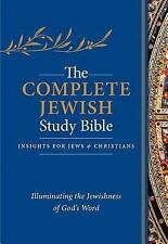 The Complete Jewish Study Bible: Illuminating the Jewishness of God's Word (Leat