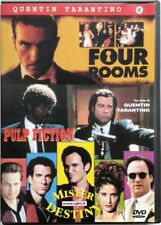 Dvd Quentin Tarantino box 3 Four Rooms - Pulp fiction - Mister Destiny Usato