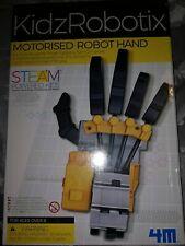 4M KidzRobotix Motorised Robot Hand Science Educational BNIB