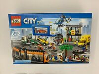 LEGO City RARE 60097 City Town Square SEALED Box New VERY NICE Tram Truck Copter