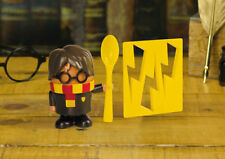 Harry Potter Egg Cup and Toast Cutter Hogwarts Dress Up Lightning Bolt