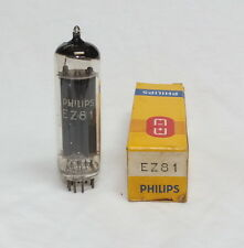 (1) tube Ez81 6Ca4 Philips Mullard Nos Vacuum tube Valve