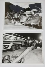 Vtg 1980's SHIRLEY MULDOWNEY Top Fuel NHRA 8x10 Press Photo Lot Of 2