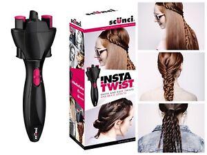 Scunci Insta Twist Hair Styler Twister Braider Styling Tool Easy Twists New