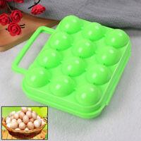12 Eierbehälter halten tragbare Ei-Aufbewahrungsbox für den Außenbereich_HO