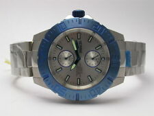 INVICTA 14059 PRO DIVER OCEAN BARON GMT STAINLESS STEEL MENS WATCH