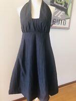 Intangible Dress, 12, Black Formal Cocktail Ball Dress, Sleeveless, Balloon Hem