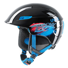 Uvex U-Kid Enfants Ski Unisexe Noir Bleu 46-51 CM Neuf ! Emballage D'Origine