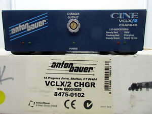 Anton Bauer CINE-VCLX/2 Charger for CineVCLX/2 Battery 8475-0102