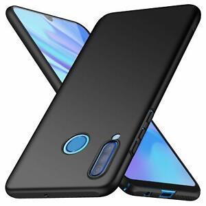 For Huawei P30 lite Case Ultra Slim Hard Back Cover - Matte Black