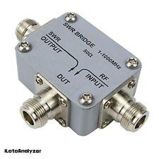1mhz 1ghz Rf Swr Reflection Bridge Directional For Rf Network Measurement Ayt 1