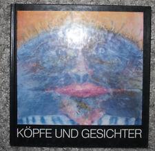 Köpfe und Gesichter, Dorit Marhenke, Ausstellungskatalog, 1983