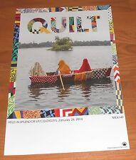 Quilt Held in Splendor Poster Original Promo 11x17