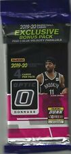 2019-20 Donruss OPTIC Basketball (1) CELLO Hanger Pack With BLUE VELOCITY Cards