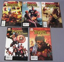 MARVEL ZOMBIES vs ARMY OF DARKNESS #1 2 3 4 5 (Full Run) First Prints 2007
