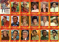 Hellfighters John Wayne movie trading cards Red Adair Jim Hutton