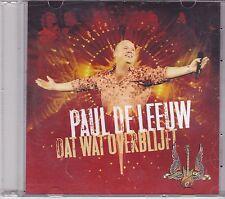 Paul De Leeuw-Dat Wat Overblijft Promo cd maxi single