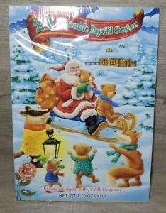 Chocolate Advent Calendar 24 Days Candy Christmas Countdown Santa *Nut Free*NEW