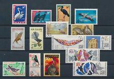 LM41110 World animals fauna flora birds fine lot MNH