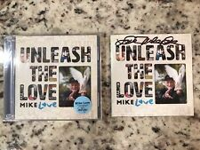 Mike Love Unleash The Love Signed Autographed CD Insert with Sealed CD
