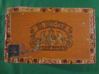 VINTAGE CIGAR BOX EL ROI-TAN
