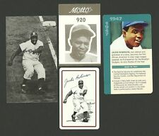 Jackie Robinson Baseball Dodgers Fab Card Collection