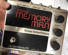 Vintage Electro Harmonix Stereo Memory Man Effect Pedal