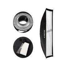 Estudio Fotográfico Caja Suave 30x120cm con Bowens Soporte para Estrobo